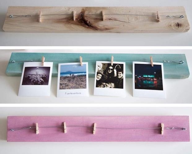 Arredare una parete con foto polaroid, da belenmariacalvo.files.wordpress.com