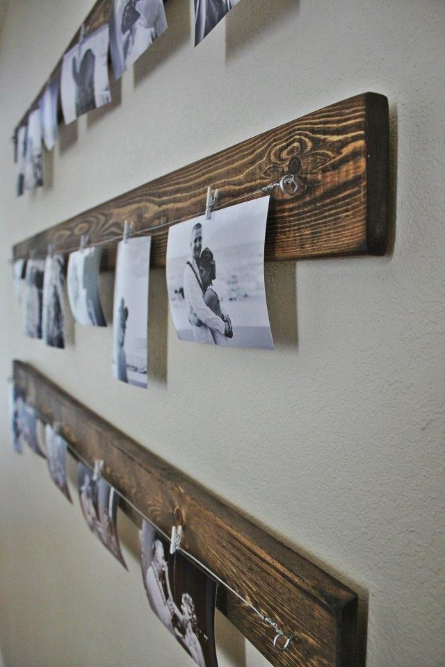 Come arredare una parete con foto, da heelsinthemud.wordpress.com