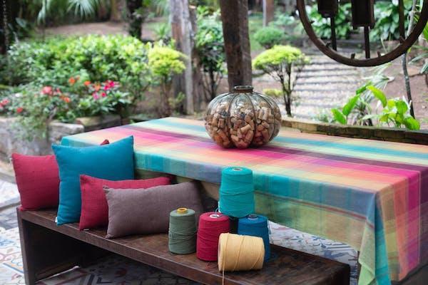 Arte del riciclo: i tessili