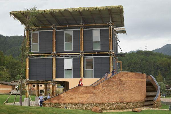 Un esempio di casa ecologica in bambù, la Energy Efficient Bamboo House