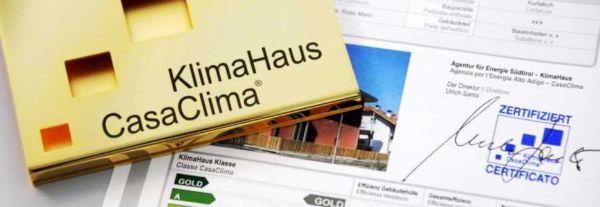 La certificazione CasaClima garantisce un modo di costruire sostenibile