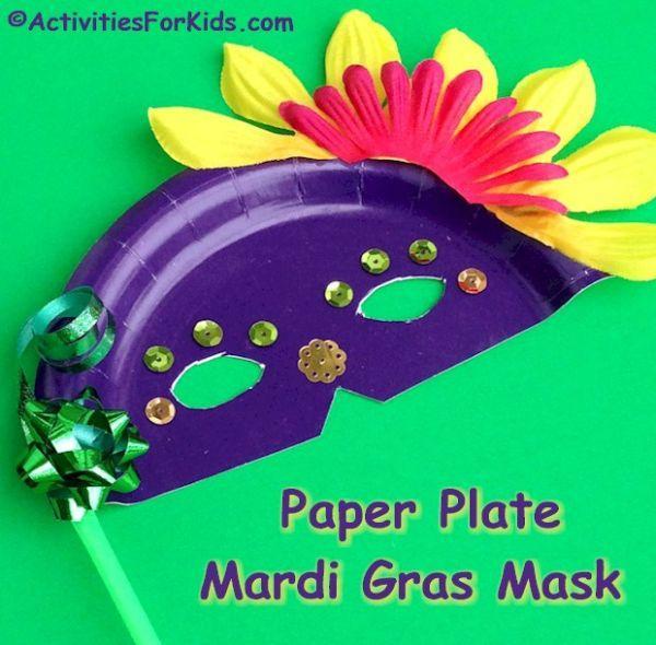 maschera carnevale fai da te di Activitiesforkids.com