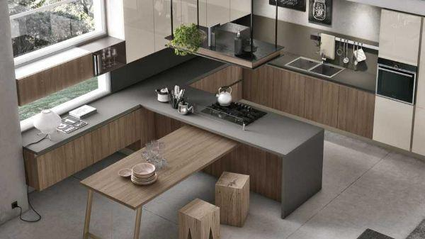 Cucine americane moderne: modello Infinity di Stosa