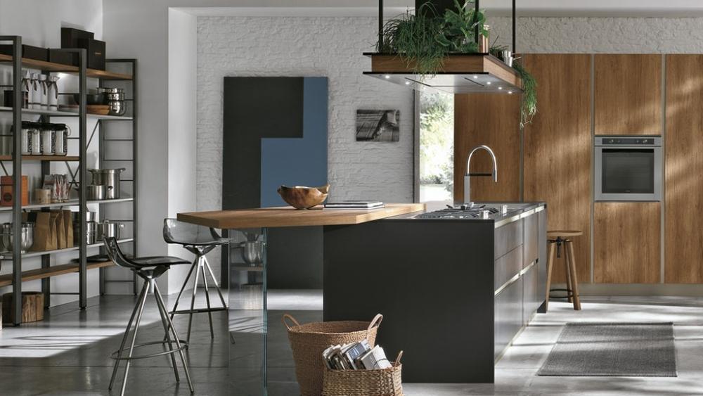 Cucina componibile moderna Infinity di Stosa