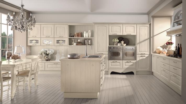 Cucina classica contemporanea modello Veronica di Lube