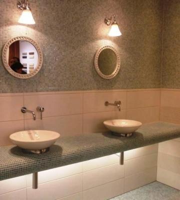 Bagno con rivestimento in mosaico - Vietri Ceramic Design