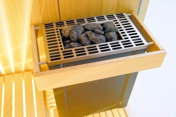 Stufa con pietre in sauna Sensation - Carmenta