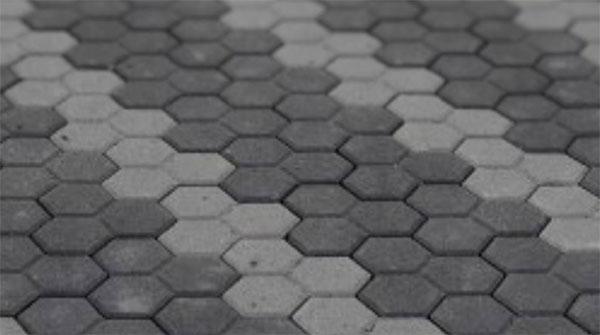 Autobloccanti classici a cellette esagonali di Paver