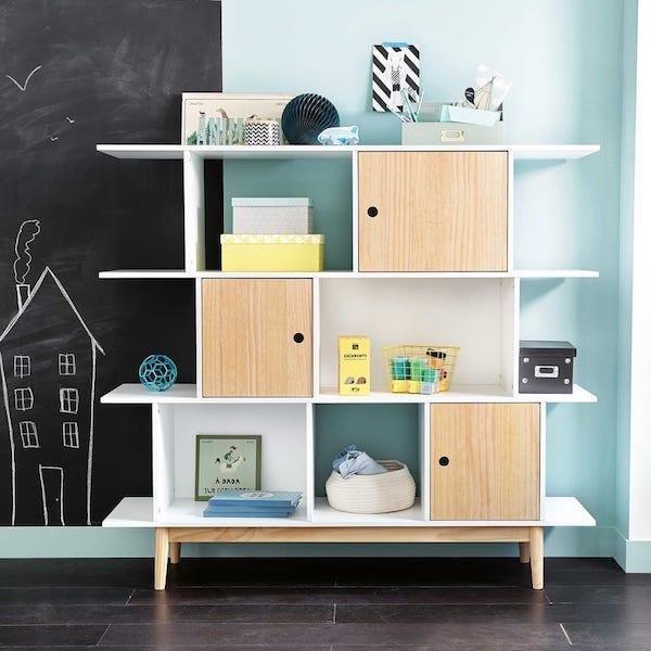 Libreria bianca moderna Happy - Maisons du Monde