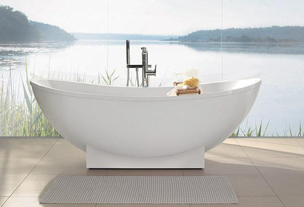 Vasca da bagno freestanding My Nature by Villeroy & Boch
