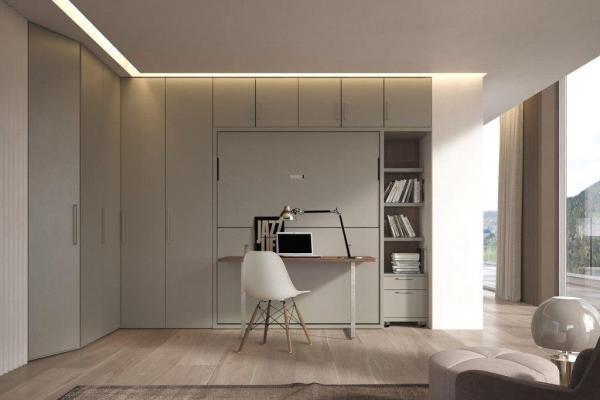 Arredo scrivania e letto integrato Pratico - Spinelli