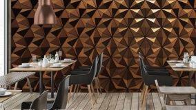 Carta da parati tridimensionale: decorazioni di effetto per pareti