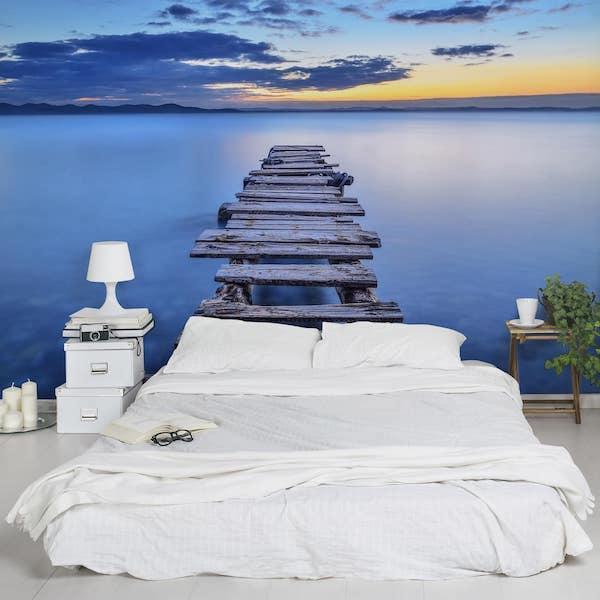 Carta da parati 3d Bilder Welten - Percorso nel mare calmo