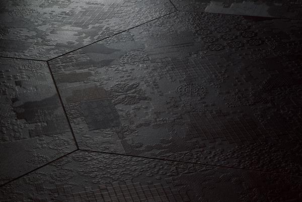Decorazioni pareti dechirer Mutina ceramiche by Urquiola