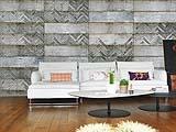 Decorazioni pareti carta da parati Mapei e Inkiostro Bianco