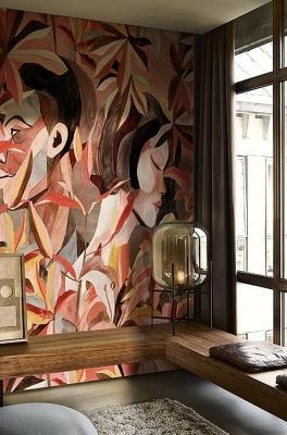 Carta da parati Wall&Deco DELOVE
