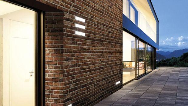 Luci da esterno originali e integrate con l'architettura