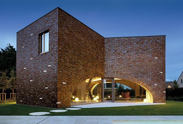 Lampade per esterno brick light mattone luminoso