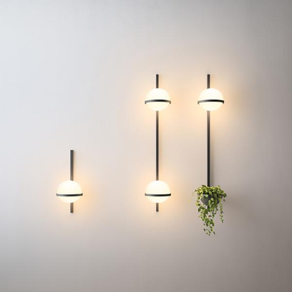 Illuminazione verticale architettura lampade per esterno Vibia