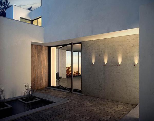 Lampada esterno bamboo Vibia design