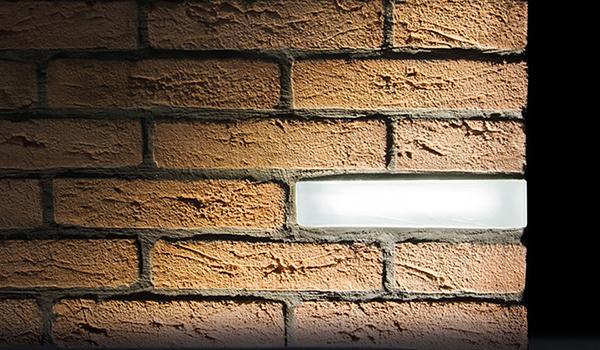 Lampade esterno mattone luminoso Brick of light
