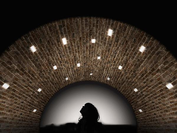 Luci per esterno mattone luminoso Simes