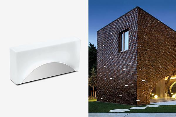 Luci per esterno Simes Brick Light
