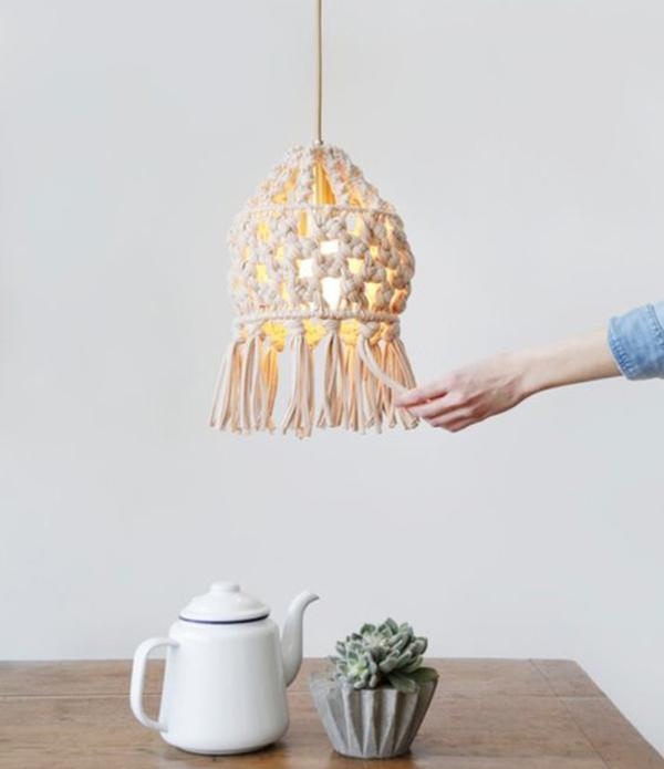 Lampade sospensione design corda