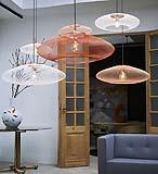 Lampade sospese paralumi filiformi