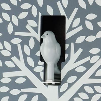 Orologio cucù moderno dettaglio uccellino su Amazon