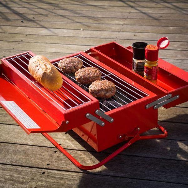 Barbecue portatile per la festa del papà, da Troppotogo.it