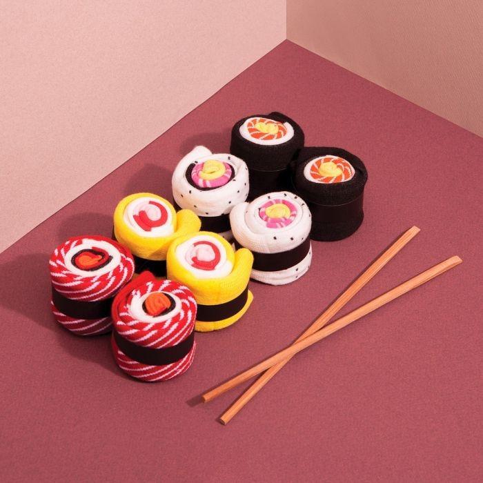 Calze sushi idea pe la festa del papà su Troppotogo.it