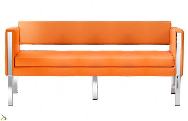 Divanetto Ciad arancione - Arredo Design Online