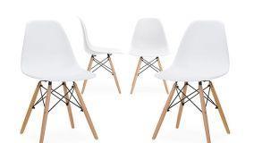 Sedie wooden si adattano a ogni spazio e fanno tendenza
