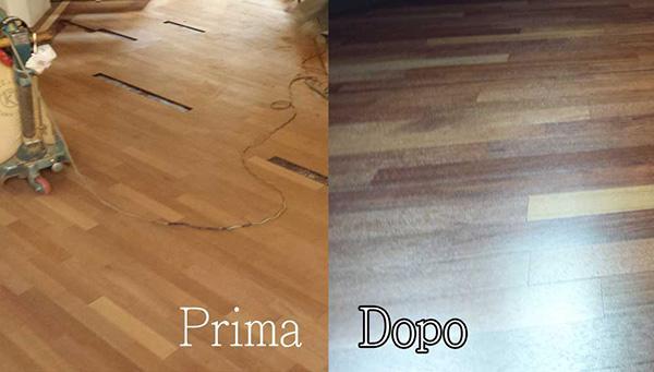 Trattamento levigatura parquet - Pavimenti in legno Rho