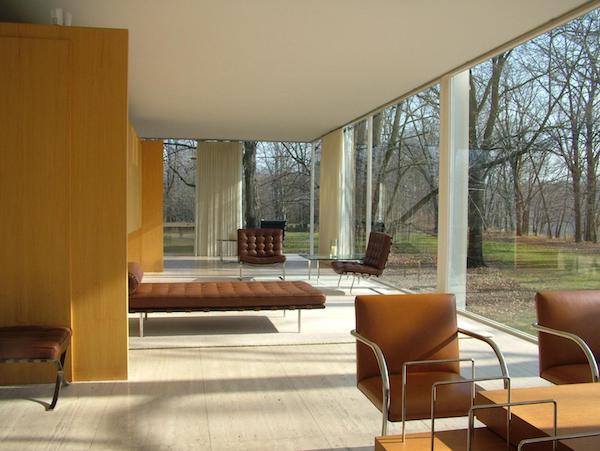 Villa in stile Bauhaus di Ludwig Mies Van Der Rohe