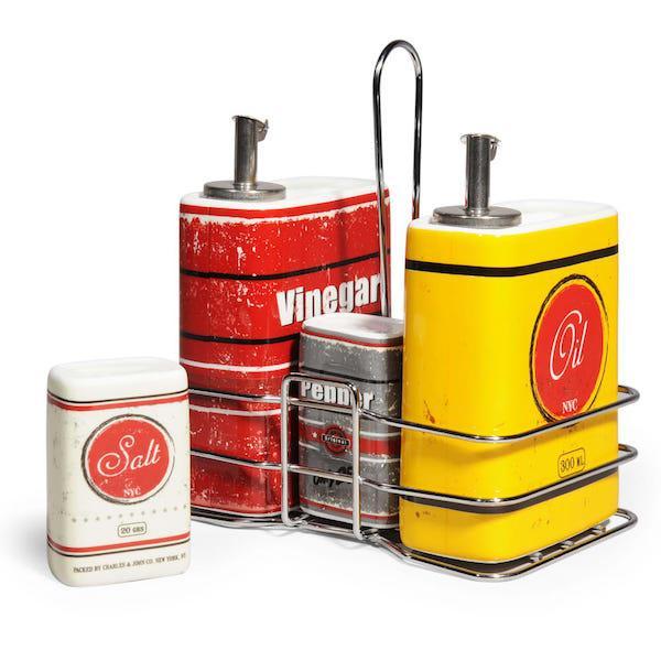 Porta condimenti Maison du Monde - accessori cucina vintage