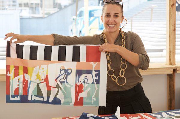Nuova collezione IKEA ÖVERALLT - Le stampe tessili di Renee Rossow