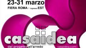 Casaidea 2019: a Roma la mostra dedicata all'arredo casa