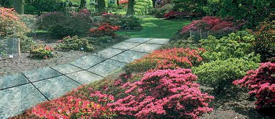 Marmette come copertura in giardino