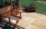 Pavimenti per terrazzi e giardino in legno da esterni