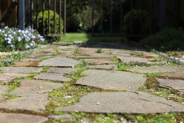 Pavimentazione per esterni in pietra