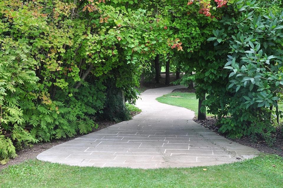 Copertura per vialetti in giardino