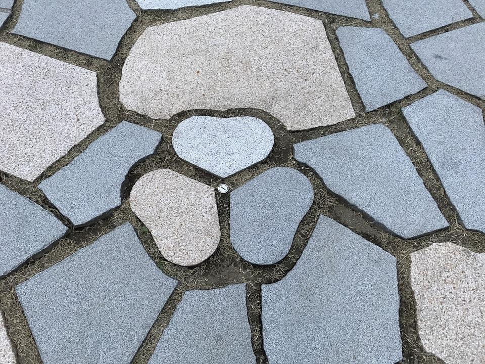 Pavimento da esterno fai da te in pietra