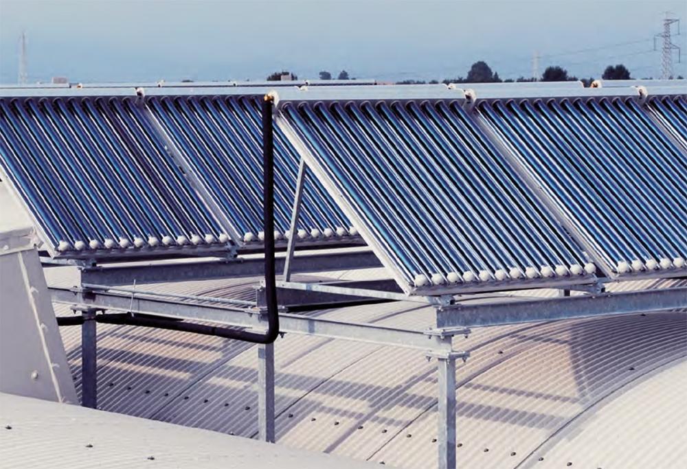 Celle solari per impianti di climatizzazione solar cooling by Kloben