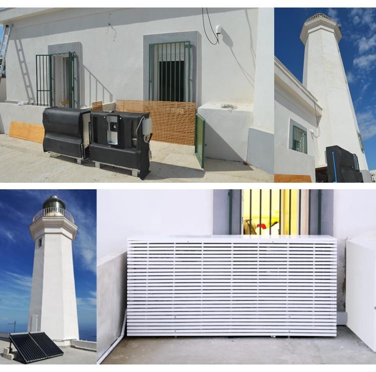 Condizionatori fotovoltaici FREESCOO di SolarInvent a Lampedusa
