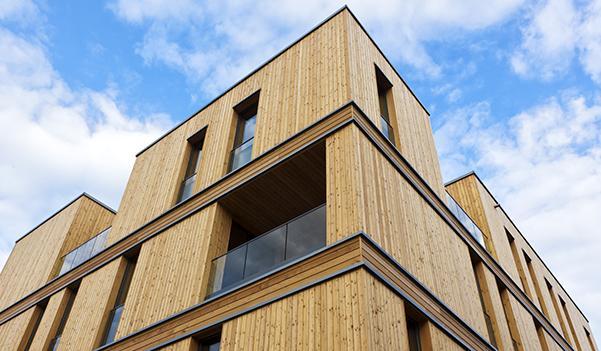 Edifici ecostenibili in legno, una strategia vincente