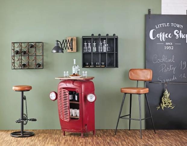 Sgabello alto da bar isis vintage barhocker möbel und hocker