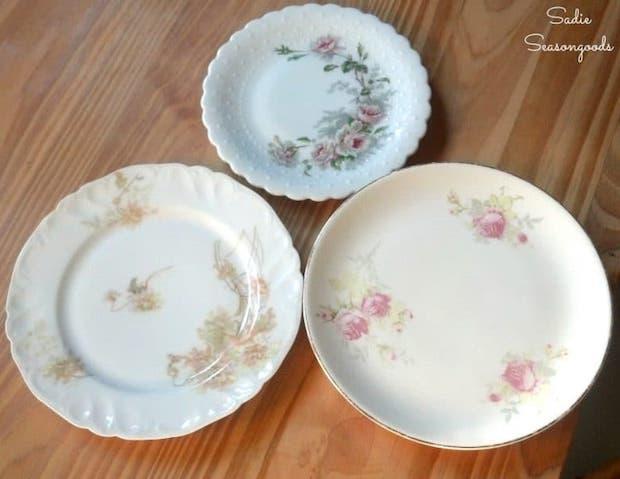 Riutilizzare i piatti spaiati per realizzare dei portafrutta: parte 1, da sadieseasongoods.com