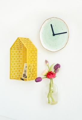Come realizzare un orologio con i piatti spaiati, da francoisetmoi.com